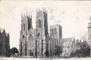 England York York Minster Fold Out Town Scenes 1908