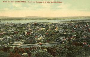Canada - Quebec, Montreal. Bird's Eye View