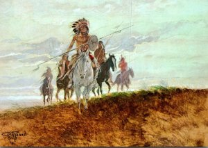 Natures Soldiers By Charles Marion Russell