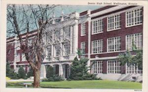 Senior High School Wellington Kansas Curteich