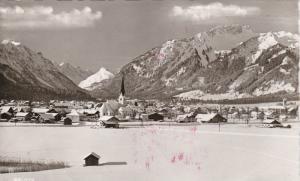 RP, Snowy Scene Of City, REUTTE (Tirol), Austria, 1920-1940s