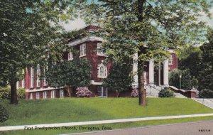 COVINGTON, Tennessee, 1900-1910's; First Presbyterian Church