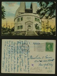 Dominion Observatory Victoria c 1920