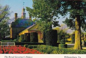 The Royal Governor's Palace Williamsburg Virginia