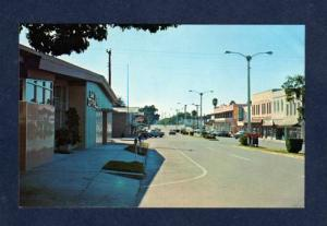 FL City View with Stores ZEPHYRHILLS FLORIDA Postcard
