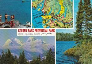 Canada British Columbia Golden Ears Provincial Park With Map