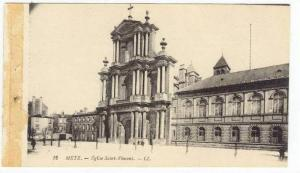 METZ, France, 00-10s   Eglise Saint-Vincent