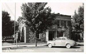 LP46  Newport Tennessee Postcard RPPC City Hall
