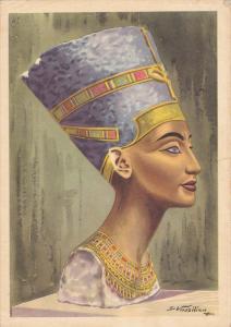 Bust of Queen Nefertiti , Egypt , PU-1967