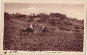CPA AK MAROC Campagne du RIFF Arrivée dans un village Flandrin (38418)