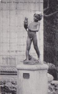 Naked Boy and Frog Panama Pacific International Expo San Francisco 1915