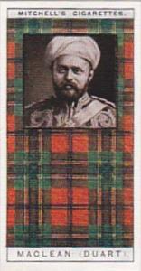 Mitchell Vintage Cigarette Card Clan Tartans No 20 MACLEAN