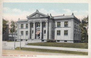 DECATUR , Illinois , 00-10s ; Carnegie Free Public library