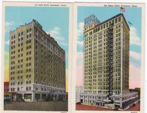 2 - La Salle Hotel & Edson Hotel, Beaumont TX