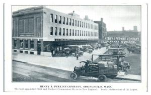 Early 1900s Henry J. Perkins Co, Springfield, MA Postcard