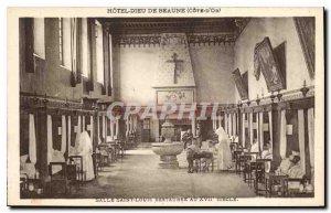 Old Postcard Hotel Dieu in Beaune Ore Riviera room Saint Louis restaurant in ...