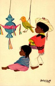 Mexico Typical Views Children 1959