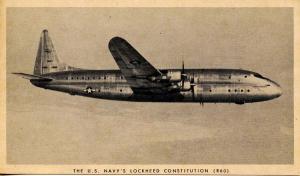 Aviation - U. S. Navy's LockheedConstitution (R60)