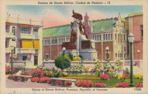 Panama Estatua de Simón Bolivar Ciudad de Panama 03.57