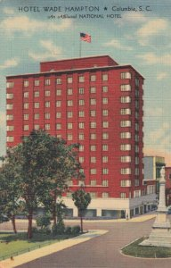 COLUMBIA , South Carolina , 30-40s ; Hotel Wade Hampton