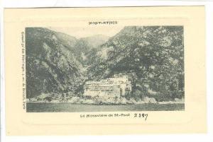 Mont-Athos , Greece , 00-10s : Le Monastere de St-Paul