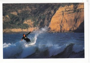 Surfing at Rodeo Beach , California , 60-90s