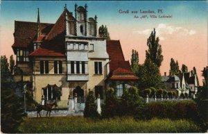 CPA AK Landau An 44 ,Villa Ludowici GERMANY (1125823)