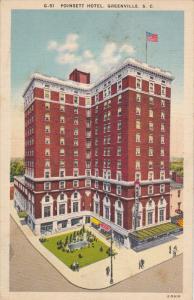 Poinsett Hotel, GREENVILLE, South Carolina, PU-1961