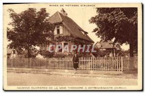 Postcard Old Houses Ouvrieres Theodore De La Mine Wittenheim quotes