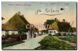 Postcard Old Widoki Z Królestwa Polskiego Poland Polska
