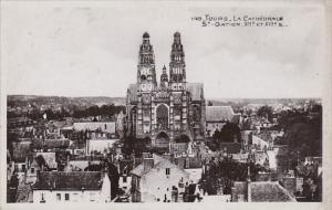 France Tours La Cathedrale St Gatien 1945 Photo