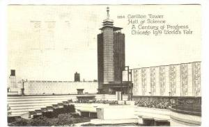 Carillon Tower, Hall of Science A Century of Progress, Chicago 1933 World's F...