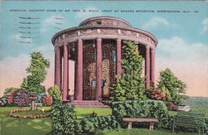 Alabama Birmingham Vestavia Home Of Mr George B Ward Crest Of Shades Mountain...