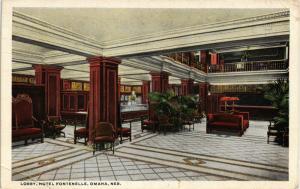 HOTEL FONTENELLE LOBBY OMAHA NEBRASKA