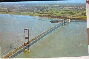 England Severn Bridge Aerial - posted 1967