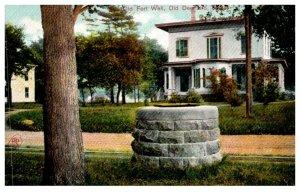 Massachusetts  Old Deerfield ,Old Fort Well
