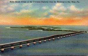 Florida Keys Bahia Honda Bridge On The Overseas Highway Curteich