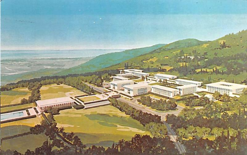 Beirut, Lebanon Postcard, Carte Postale The Future Campus of Internaltional C...