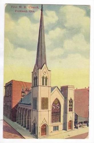 First M. E. Church, Portland, Oregon, 1900-1910s
