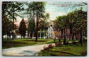 Marietta Ohio~Washington County Children's Home & Grounds~Lattice Work~c1910