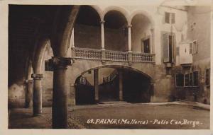 RP: Palma (Mallorca) - Patio C'an Berga , Spain , PU-1930