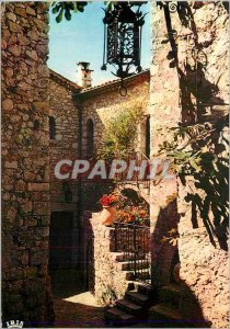 Postcards Modern Reflections of Riviera Street Typical of an Old Village Prov...