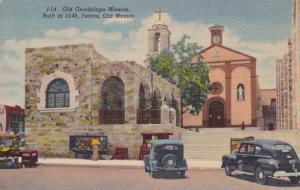Old Guadalupe Mission - Juarez, Mexico - Linen