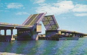 Brook Memorial Causeway Drawbridge Fort Lauderdale Florida 1961
