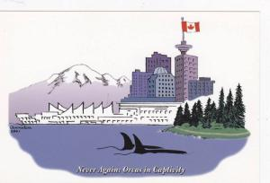 Never Again: Orcas in Captivity in Stanley Park, Vancouver, British Columbia,...
