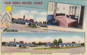 Florida Jacksonville Dan Jones Motor Court 1955