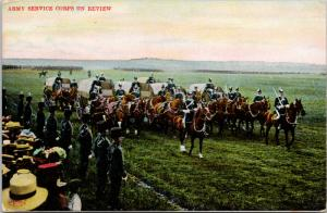 Army Service Corps On Review Ettlinger Life In Our Army Series 1907 Postcard D78