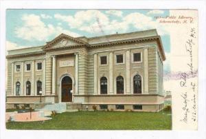 Public Library, Schenectady, New York, PU-1907