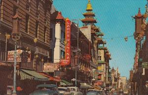 Grant Avenue Chinatown San Francisco California