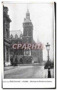 Postcard Collection Old Diary Paris Clock Palace jestice